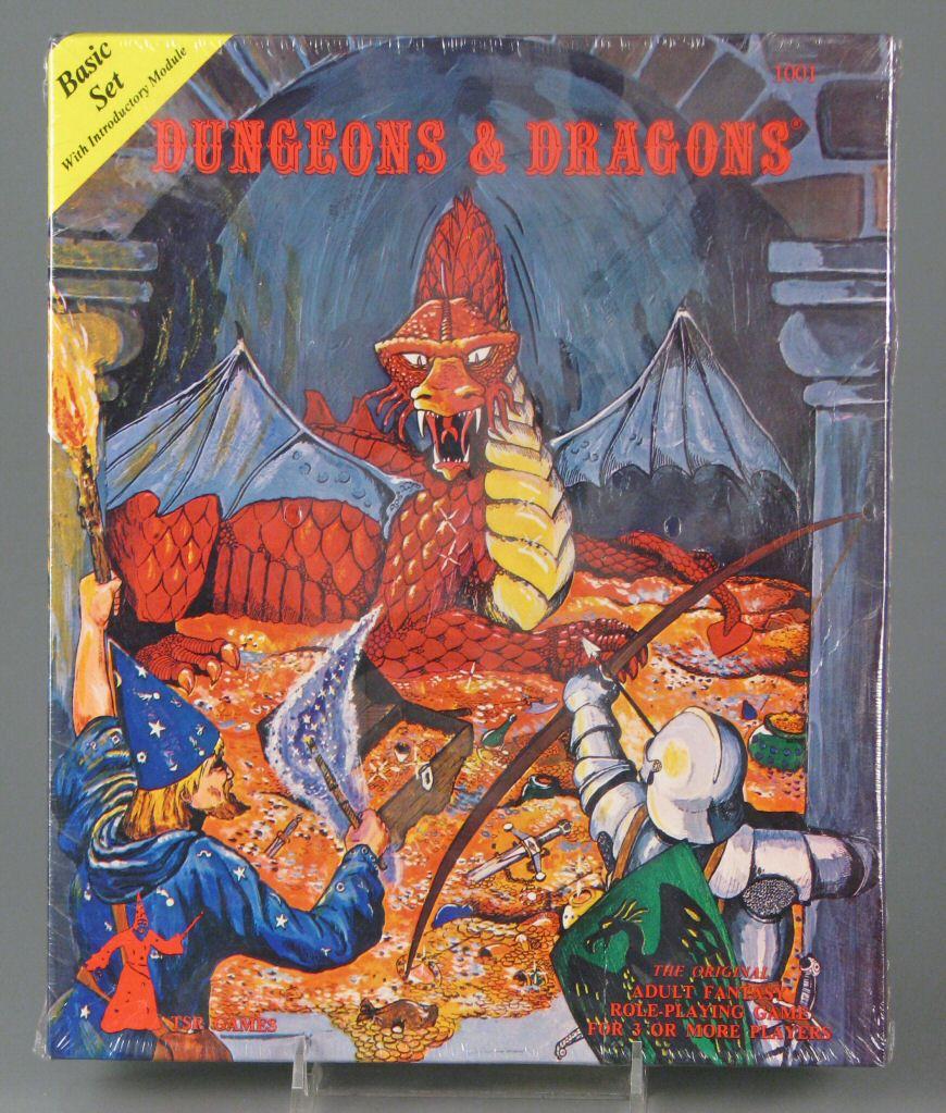 Dungeons and Dragons-Basic Set